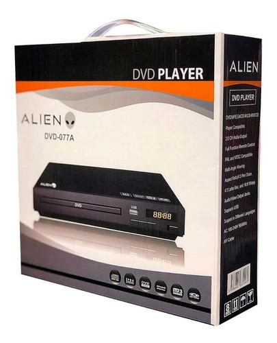 reproductor dvd player alien 077a + control mundo moda pch