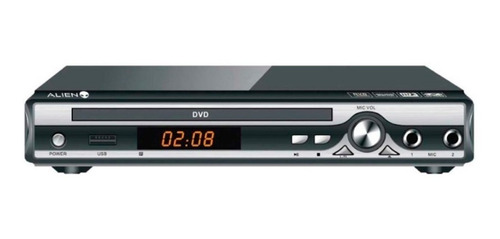 reproductor dvd player alien 3231 + control mundo moda pch