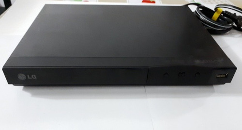 reproductor dvd player marca lg modelo dp122