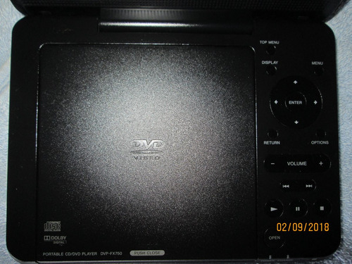 reproductor dvd player - sony- portable dvda-2015