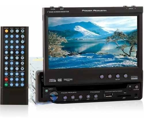 reproductor dvd power acoustik pantalla 7' tienda fisica