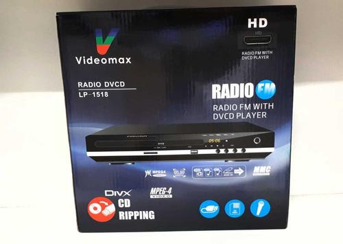 reproductor dvd radio videomax local factura gtia hyt