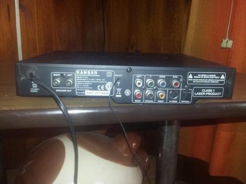 reproductor dvd ranser con parlantes puerto usb y radio fm