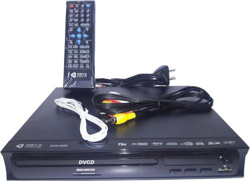 reproductor dvd usb sd karaoke divx avi mp3 hdm graba 5.