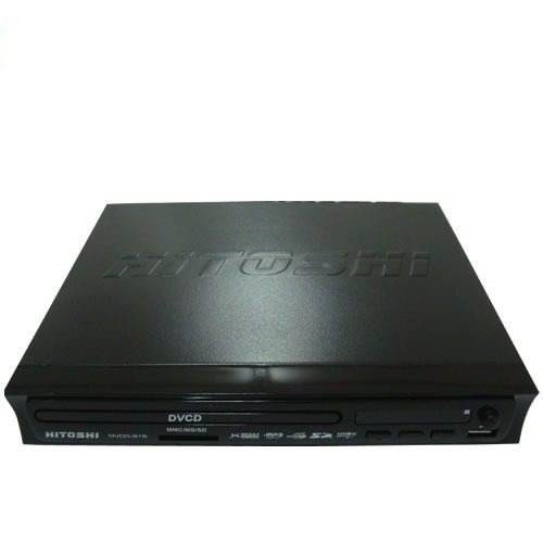 reproductor dvd usb sd vga karaoke divx avi mp3 hdm graba 5.