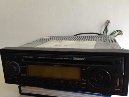 reproductor frontal aveo audiobox gm7020ubt usb bluetooth