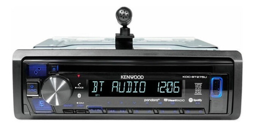 reproductor kenwood cd auxin/ 3.5mm usb bluetooht