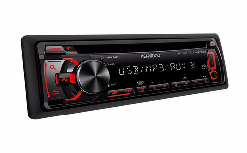 reproductor kenwood kdc mp 155u/usb/ipod original