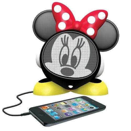 reproductor minnie mouse recargable carácter altavoz, dm-m6