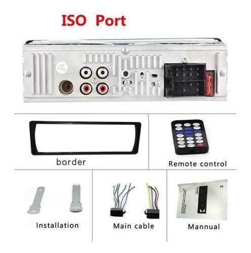 reproductor mp3 audio para coche bluetooth podofo jsd-520 1