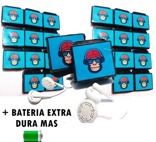 reproductor mp3  + bateria extra dura mas  + accesorios !!