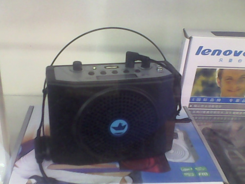 reproductor mp3 con micrófono porta-ti al mayor y detal