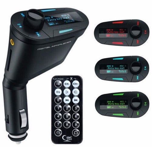 reproductor mp3 inalambrico,  control remoto
