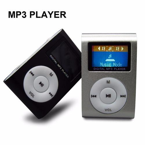 reproductor mp3-mp4 mini ipod shuflle memoria expandible 32g
