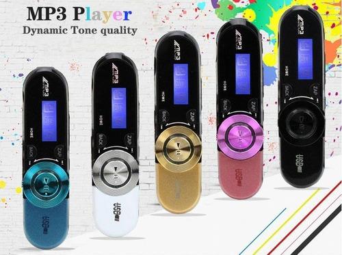 reproductor mp3 pantalla lcd radio, música micro sd
