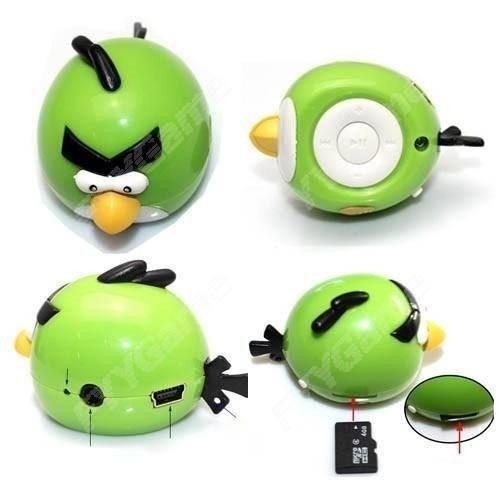 reproductor mp3 personajes con audifonos cable de carga usb
