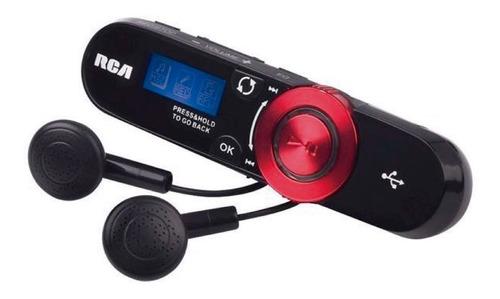reproductor mp3 rca original 4 gb th2014 fm grabador de voz