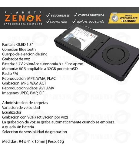 reproductor mp4 audio portatil