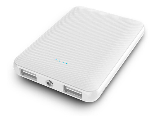 reproductor mp4  + batería externa power bank 5000 mah