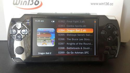 reproductor mp5 mp4 mp3 win136 8gb con cámara 10mil juegos