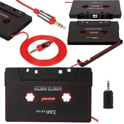 reproductor música audio cassette cinta adaptador de 3,5...
