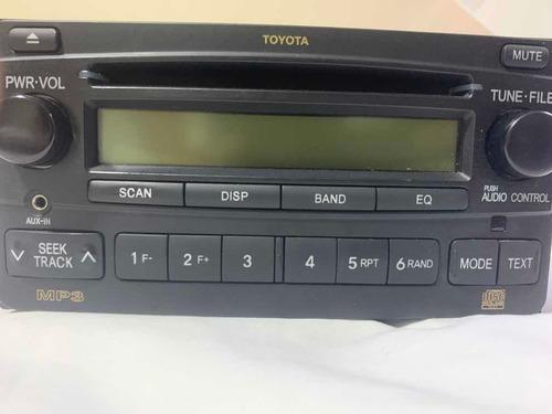 reproductor original de sonido para 4runner toyota 2006-2008