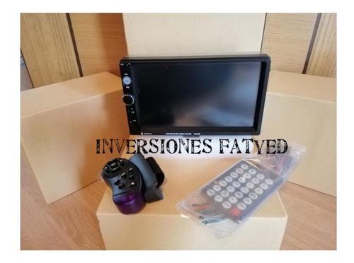 reproductor pantalla doble din 7 pulgadas mp5 bluetooth