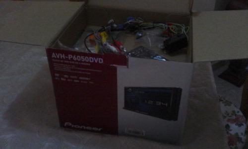 reproductor pantalla dvd pioneer avh-p6050dvd (nuevo)