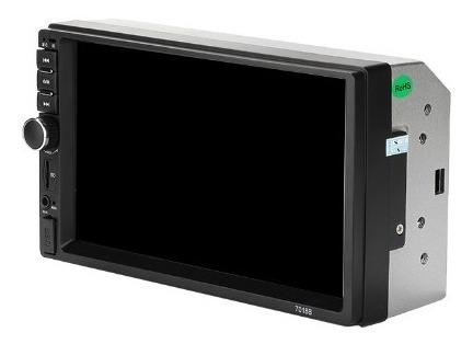 reproductor pantalla mp5 doble din 7  bluetooth control usb