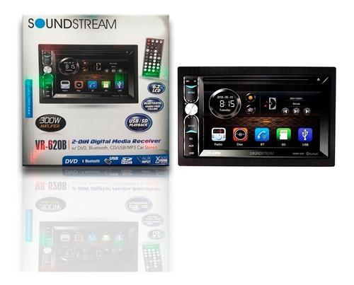 reproductor pantalla táctil 6.2   bt usb soundstream vr-620b