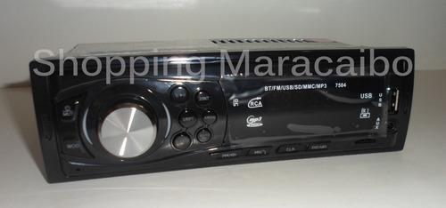 reproductor para carro bluetooth mp3 usb radio * tienda fis
