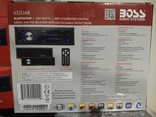 reproductor para carro boss 632uab -audio systems moderno