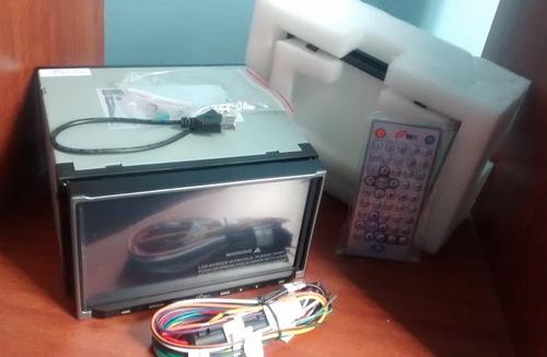 reproductor para carro con pantalla táctil nvo