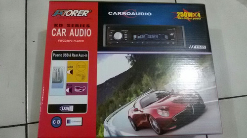 reproductor para carro leer cd mp3 y usb ,