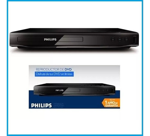 reproductor philips dvd dvp2850x usb fhd divx mp3 dolby