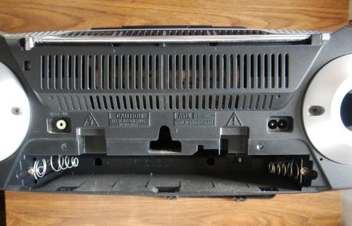 reproductor - philips modelo  a 22558 | cd-mp3 | radio |