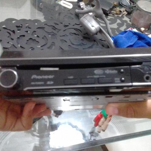 reproductor pioneer 1 din saca pantalla 5200dvd