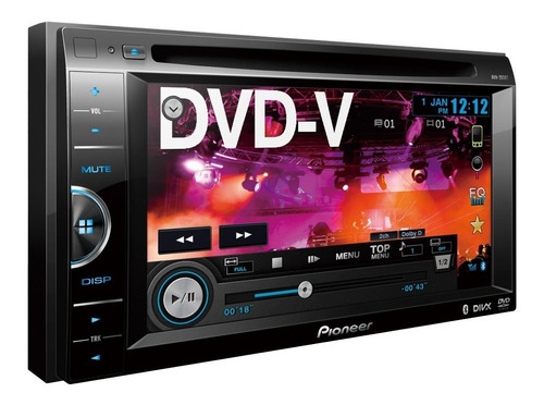 reproductor pioneer avh 265bt nuevo  bluetooth original