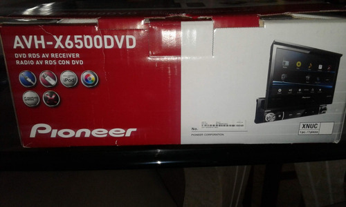 reproductor pioneer avh-x6500dvd 1-din multimedia dvd