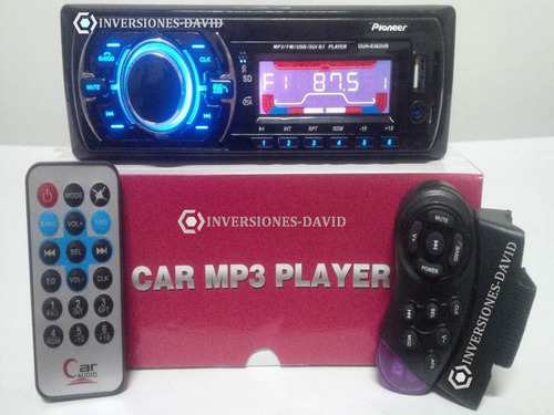 reproductor pioneer carro mp3