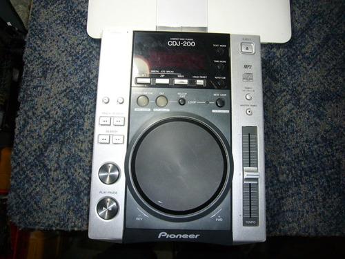 reproductor pioneer cdj 200 mp3 posible cambio