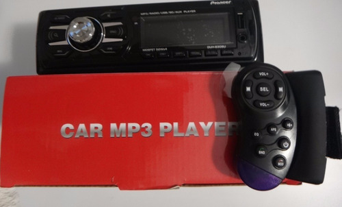 reproductor pioneer de carro mp3,usb,sd,aux,4x52w + control