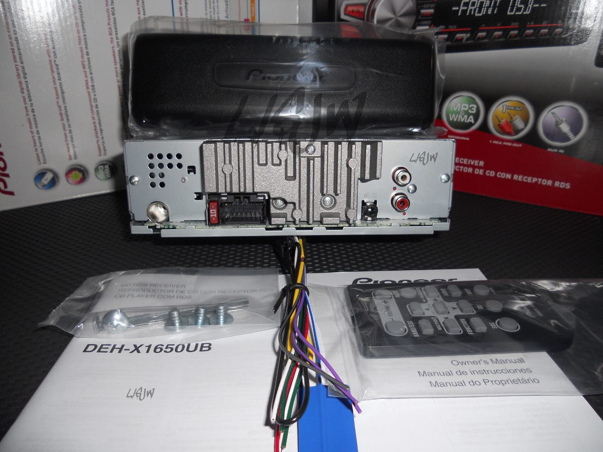 Pioneer Deh X1650ub Manual X16ub Wiring Diagram Mixtrax Radio Schematics Diagrams