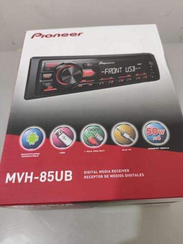 reproductor pioneer mvh 85ub original puerto usb