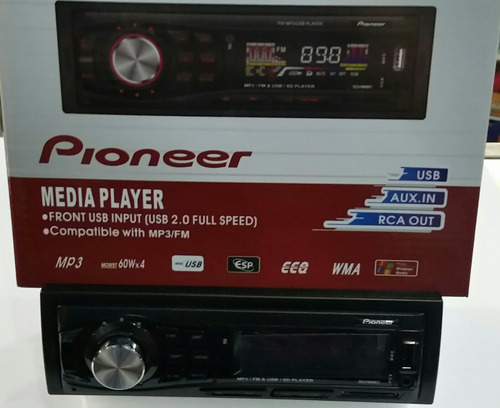 reproductor pioneer usb mp3 wma fm