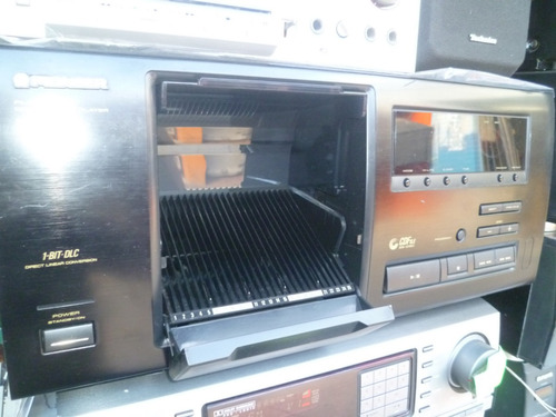 reproductor pionner de 25 cd funcionando como nuevo