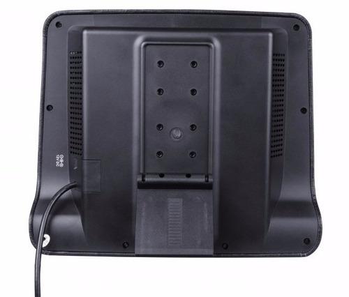 reproductor portátil forrado en cuero, lector dvd, usb,hdmi