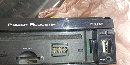 reproductor power acoustik ptid-8920