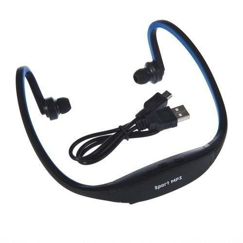 reproductor radio fm diadema mp3 sport micro sd qruzh