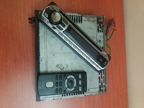 reproductor sony sencillo cd y cable aux control y frontal